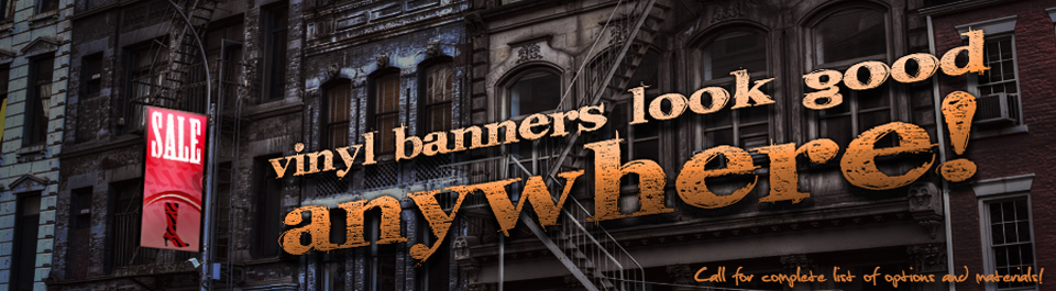 Featured Product: Vinyl Banners